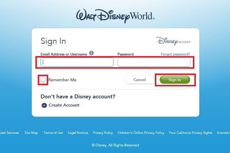 マイディズニーエクスペリエンスの登録方法