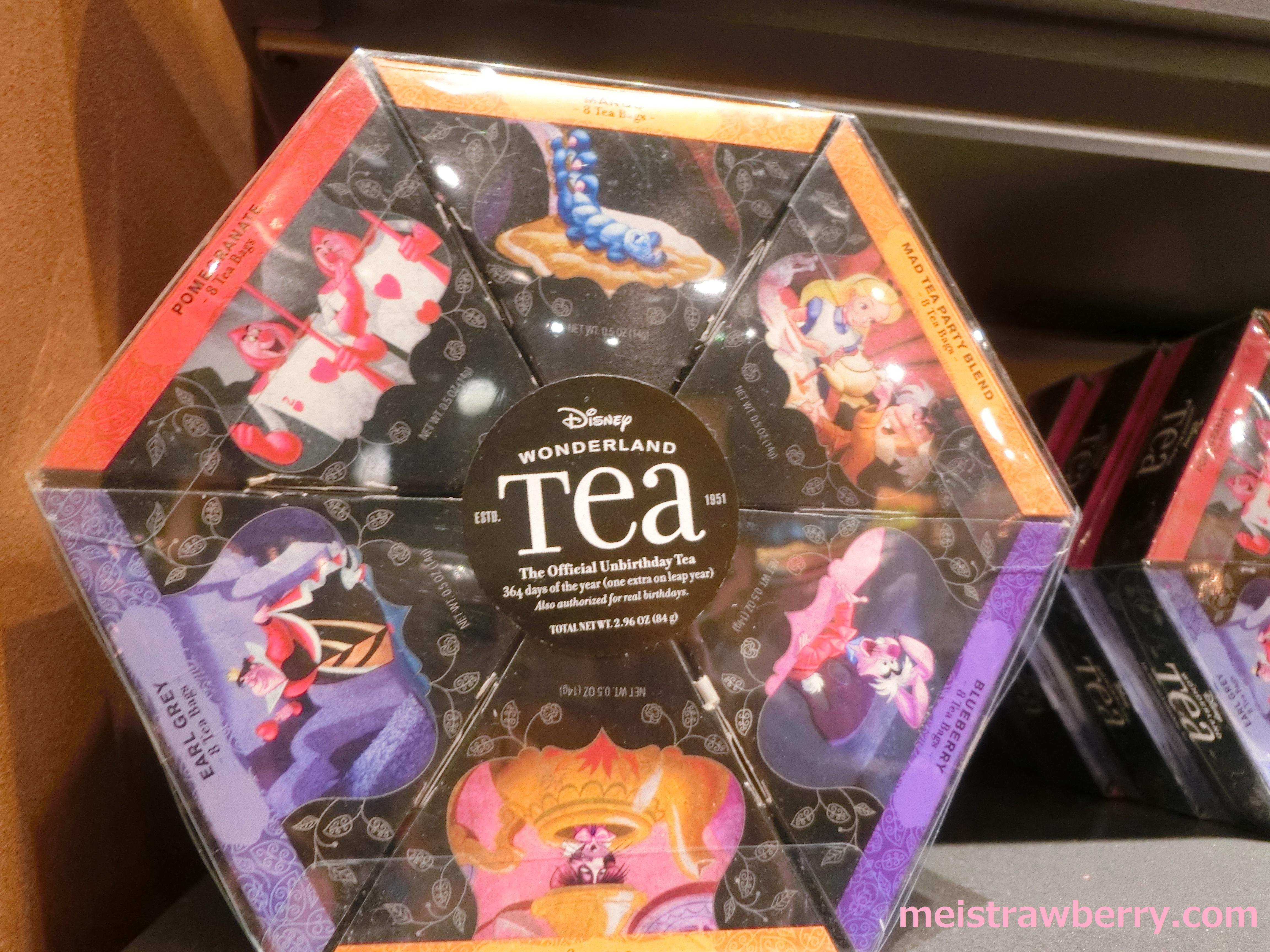 ディズニーワールド・お土産・紅茶