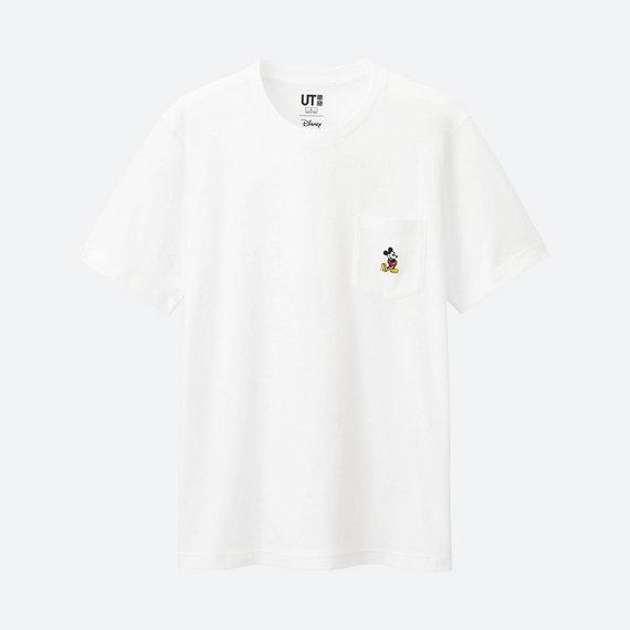 ユニクロ・ミッキーTシャツ
