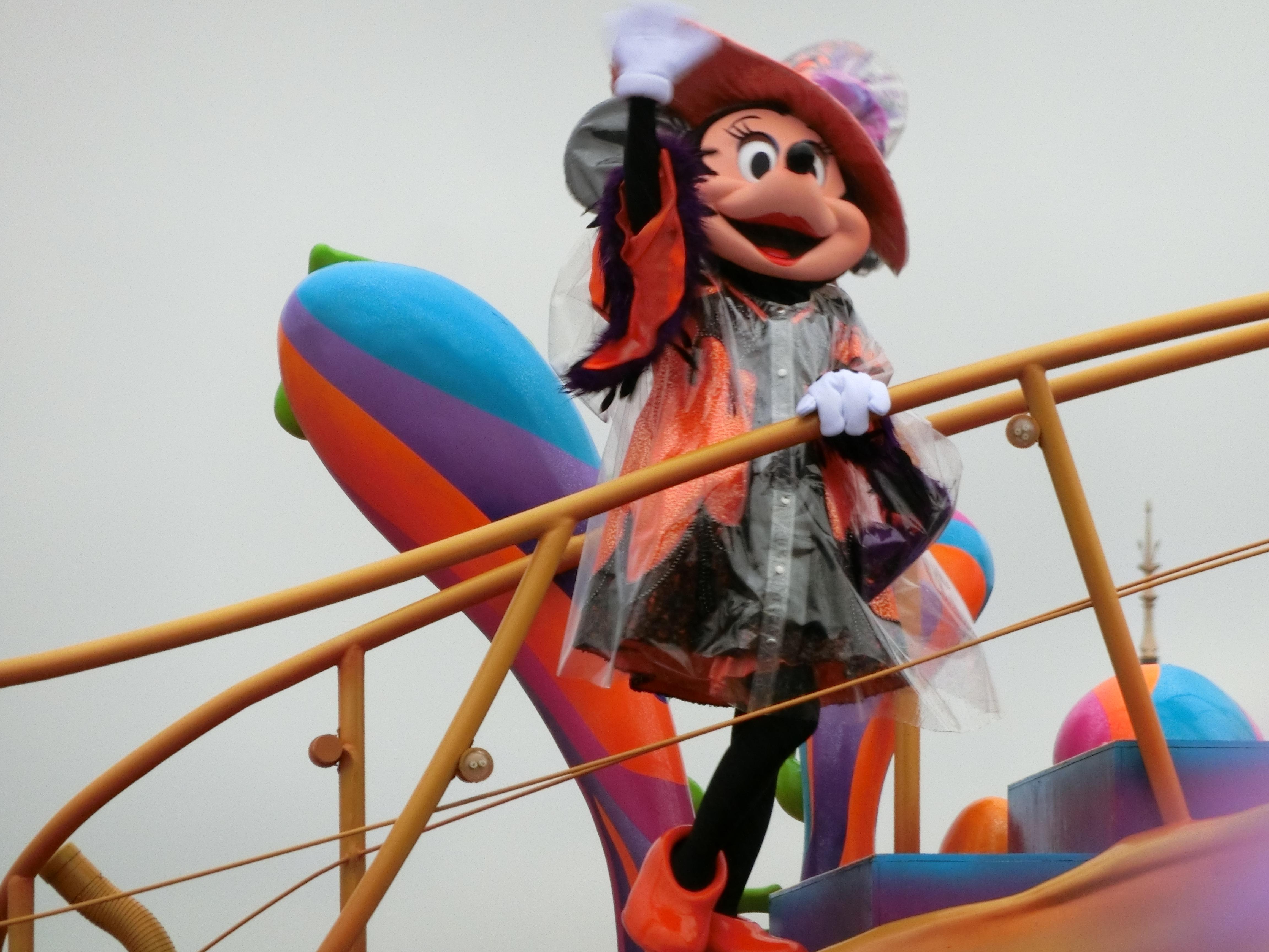 東京ディズニーランド・雨の日のパレード
