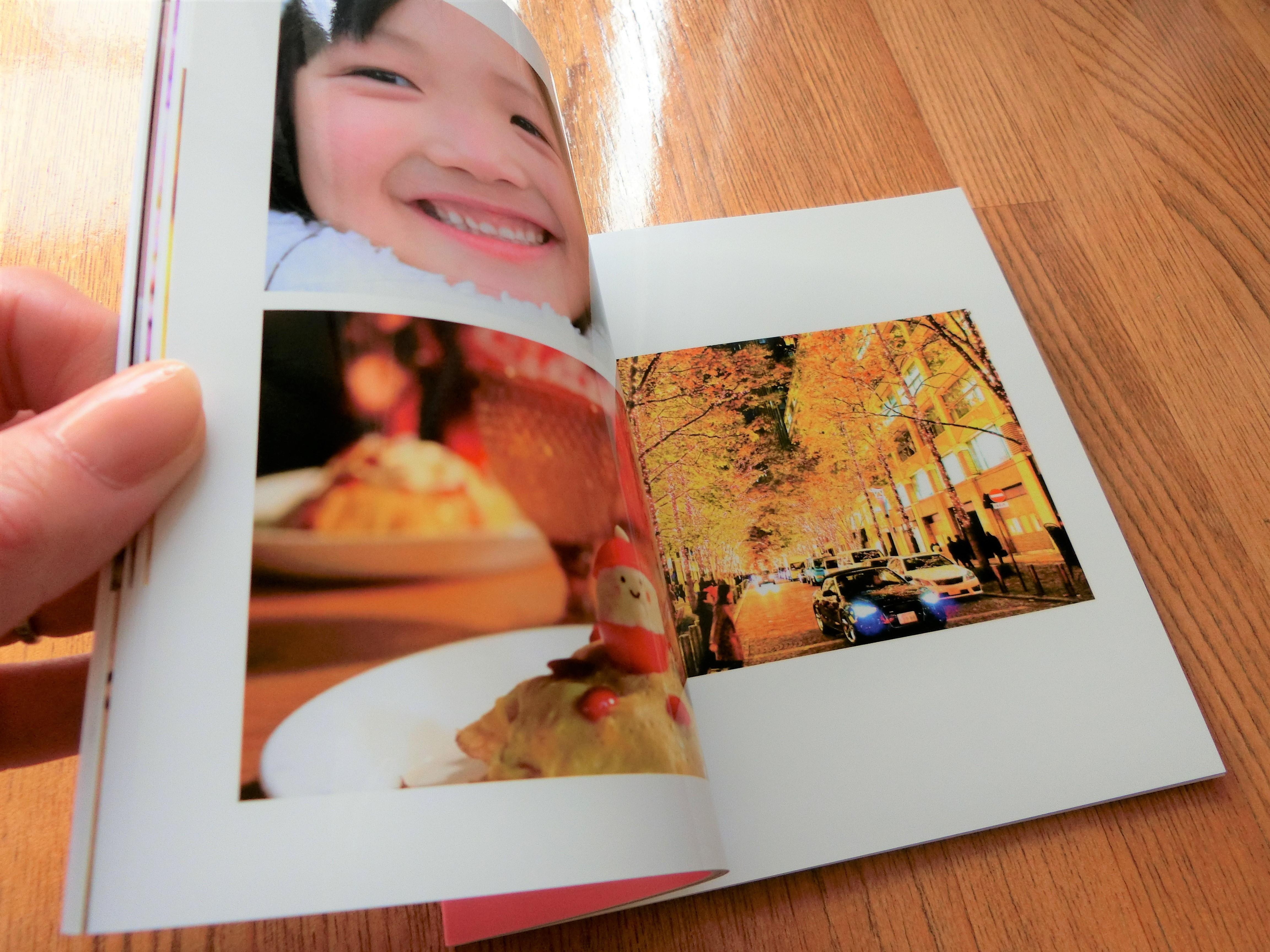 ネットプリントジャパン・プレミアム光沢仕上げのフォトブック