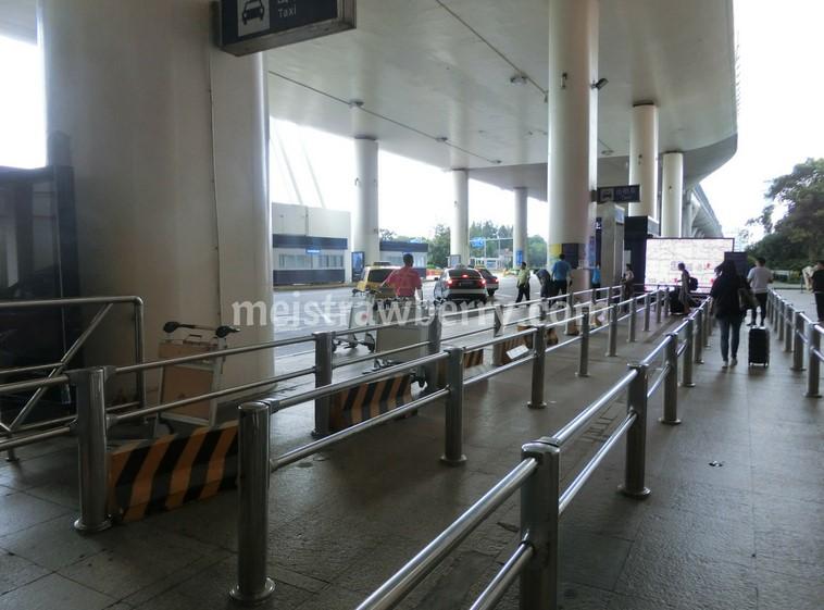 上海・浦東空港タクシー乗り場
