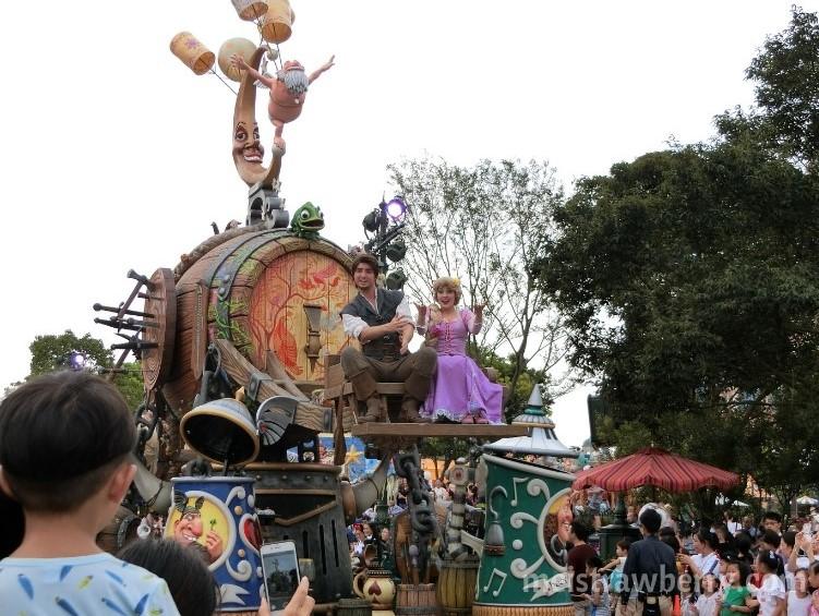 上海ディズニーランド・パレード