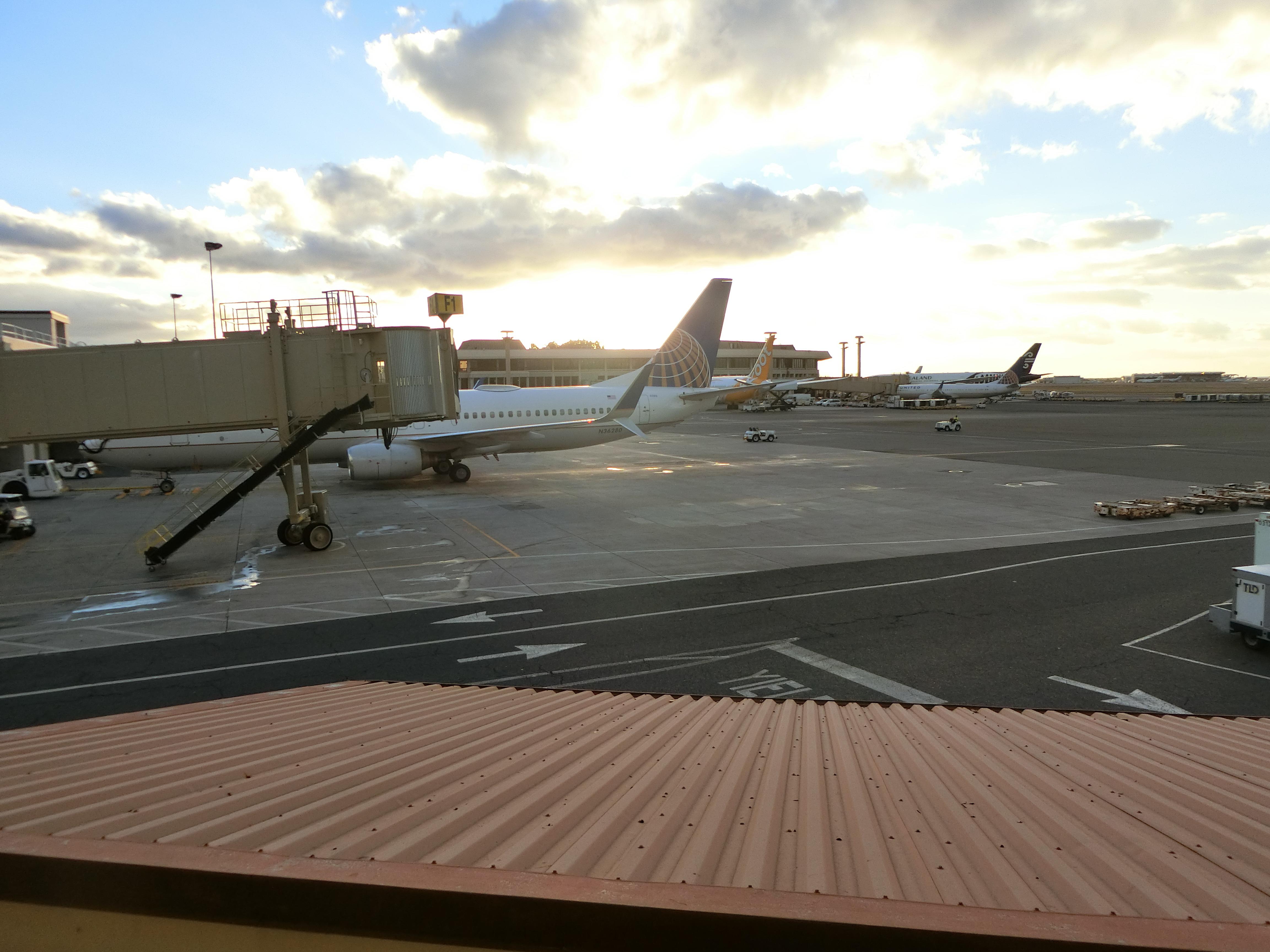ダニエルKイノウエ空港(ホノルル空港)